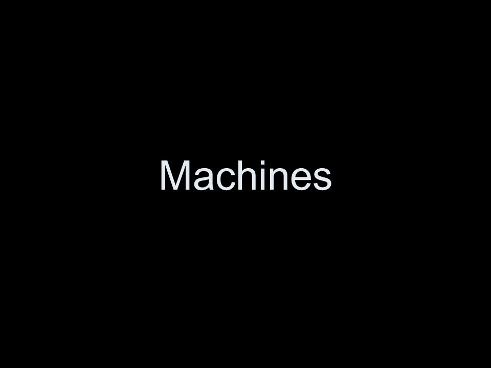 Changing Distance In some machines, the output force is less than the input force.