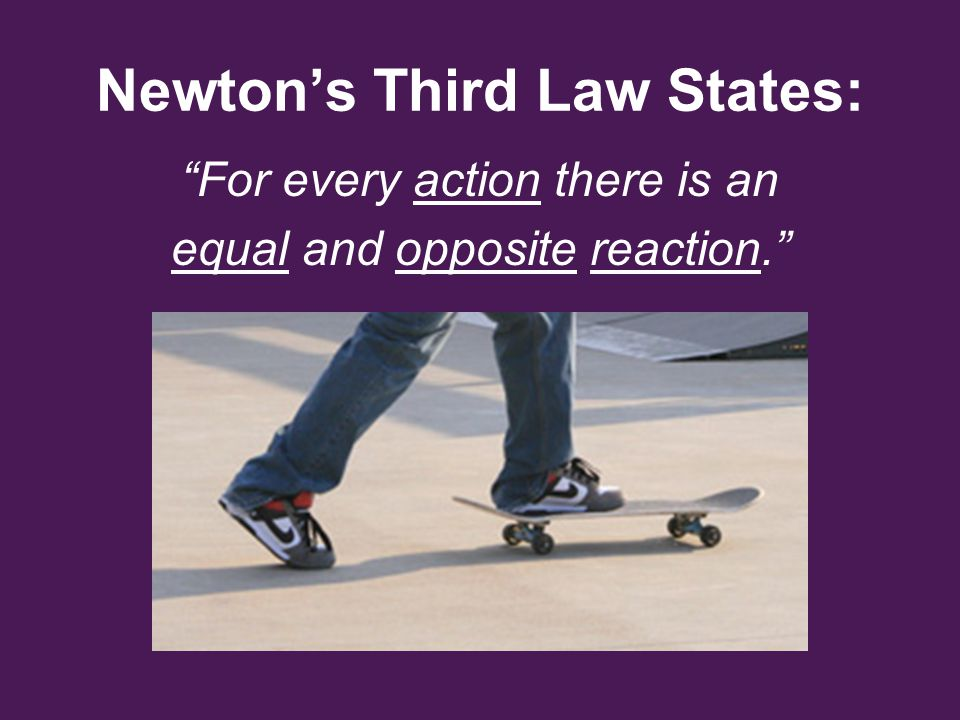 How Does a Rocket Use Newton's Third Law.
