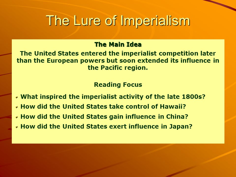 Taking Control of Hawaii Plotting against the king and the end of the monarchy –Hawaiian League- secret organization to overthrow the king and establish democracy- American business leaders, planters and traders.