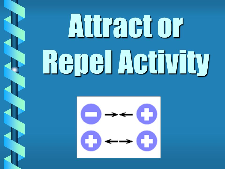 Attract or Repel Activity