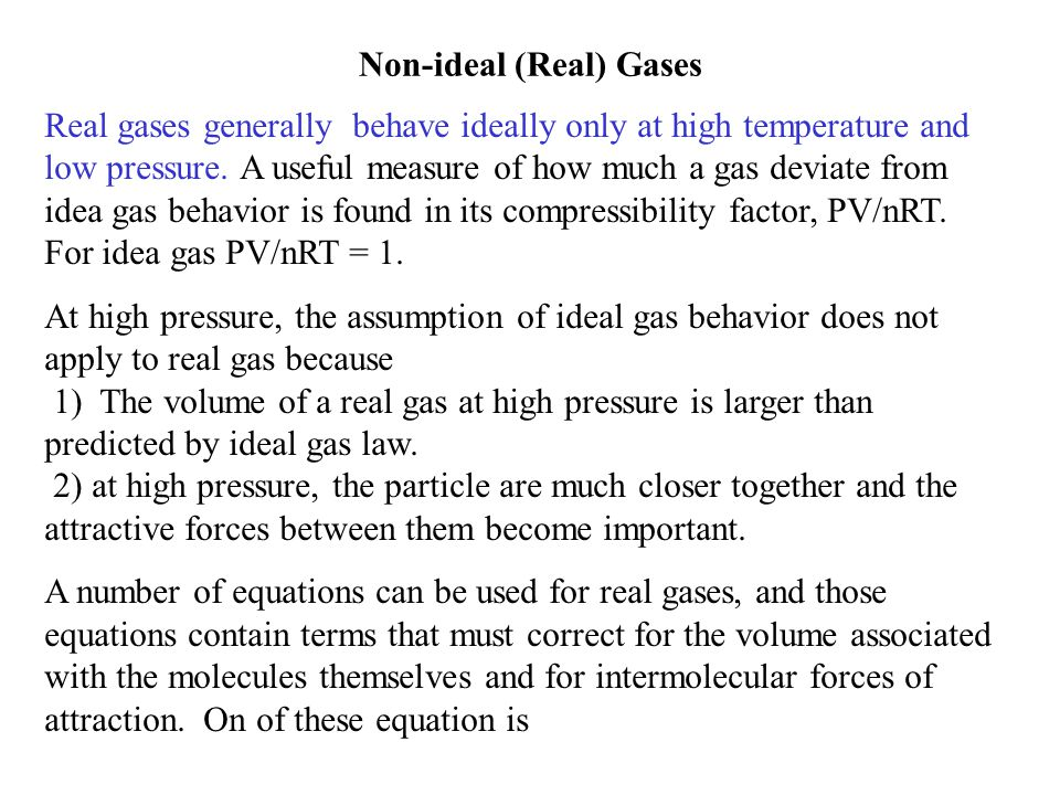 E.g. Calculate the ratio of the effusion rates of molecules of CO 2 and SO 2 from the same container at the same P and T.