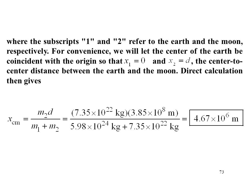 73 where the subscripts
