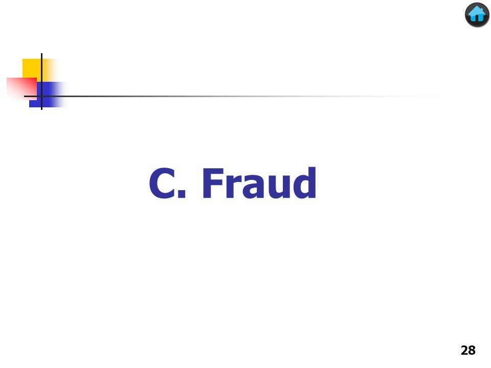 C. Fraud 28