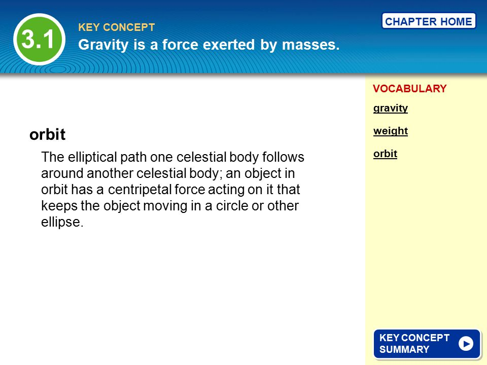 VOCABULARY KEY CONCEPT CHAPTER HOME Friction is a force that opposes motion.