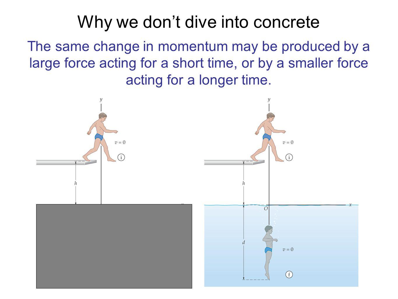 Linear Momentum Impulse With no net external force: