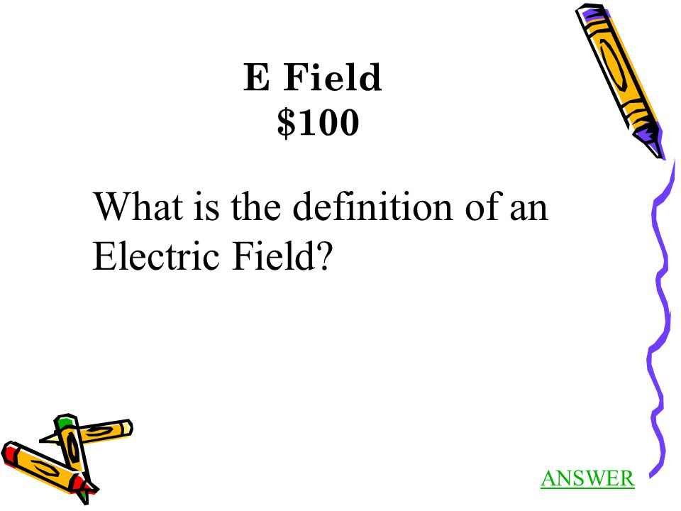 Circuit Elements $400 Answer Back to Jeopardy Suppose current is flowing in a wire from right to left.