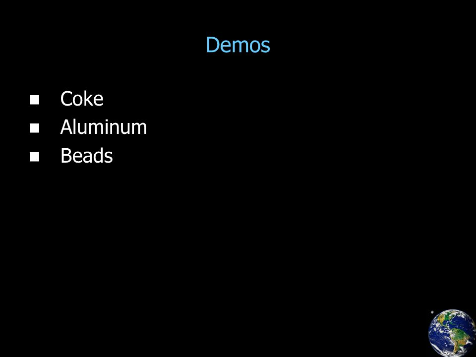 Demos Coke Aluminum Beads