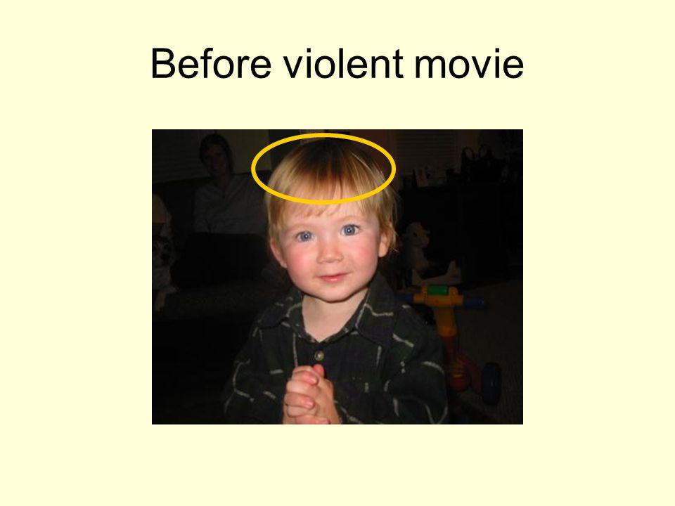Before violent movie