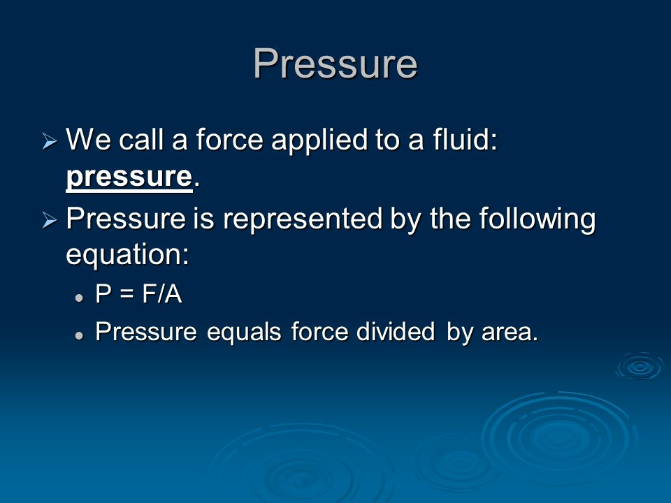 Archimedes' Principle  The buoyant force and weight of displaced fluid relationship was discovered by the Greek scientist Archimedes.