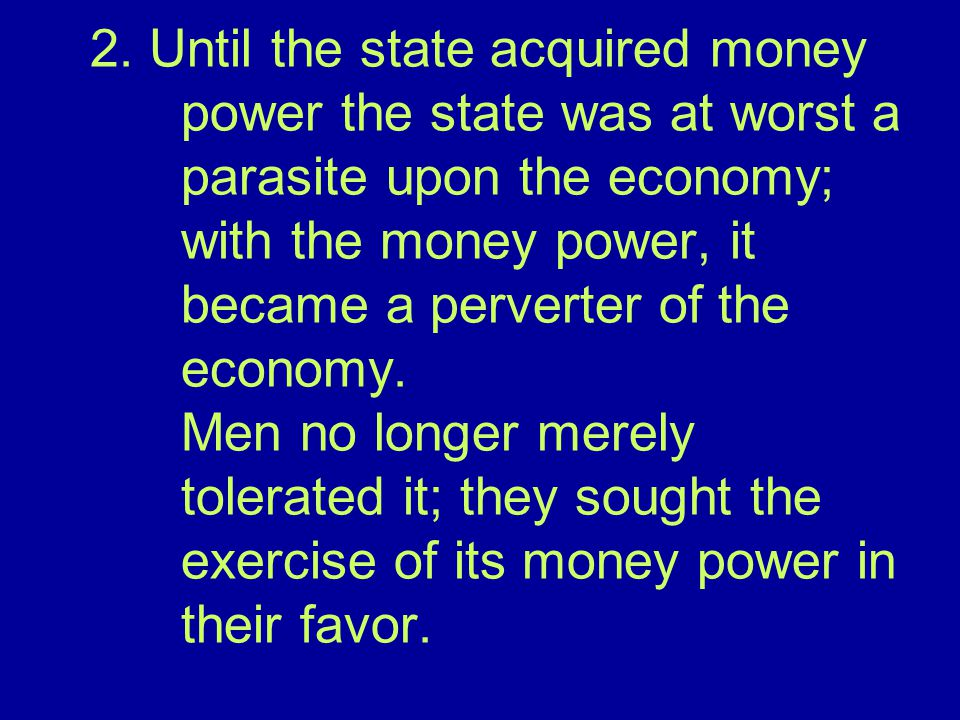 3. Thus man's attitude toward the state and the state's power over man were completely altered.