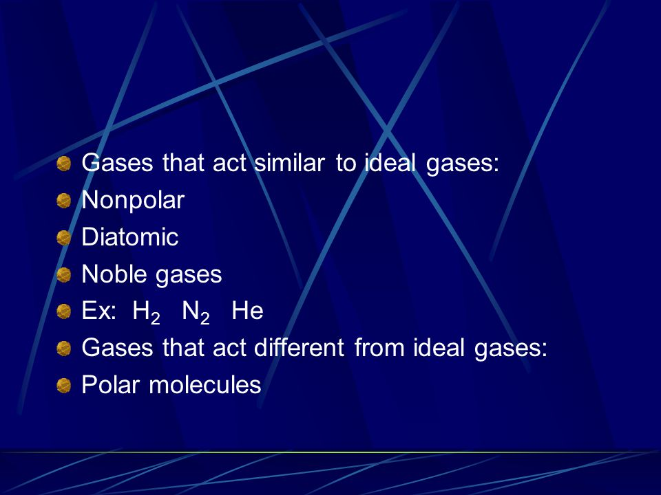 Boyle's Law: Pressure- Volume Relationship Boyle discovered that doubling the pressure on a gas will reduce the volume by one-half.