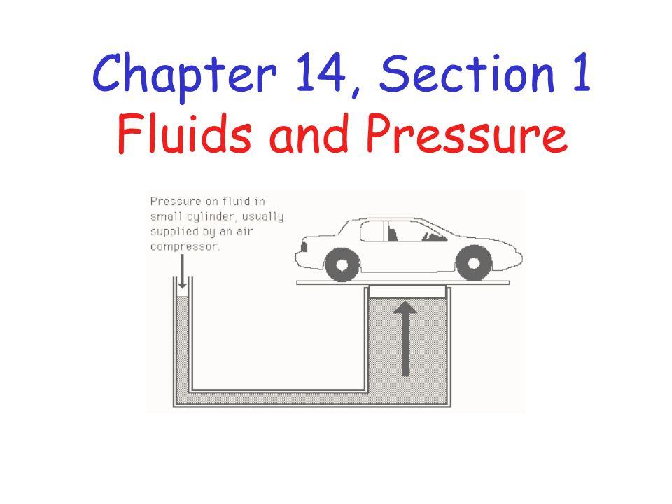 All Fluids Exert Pressure Fluids include liquids and gases.
