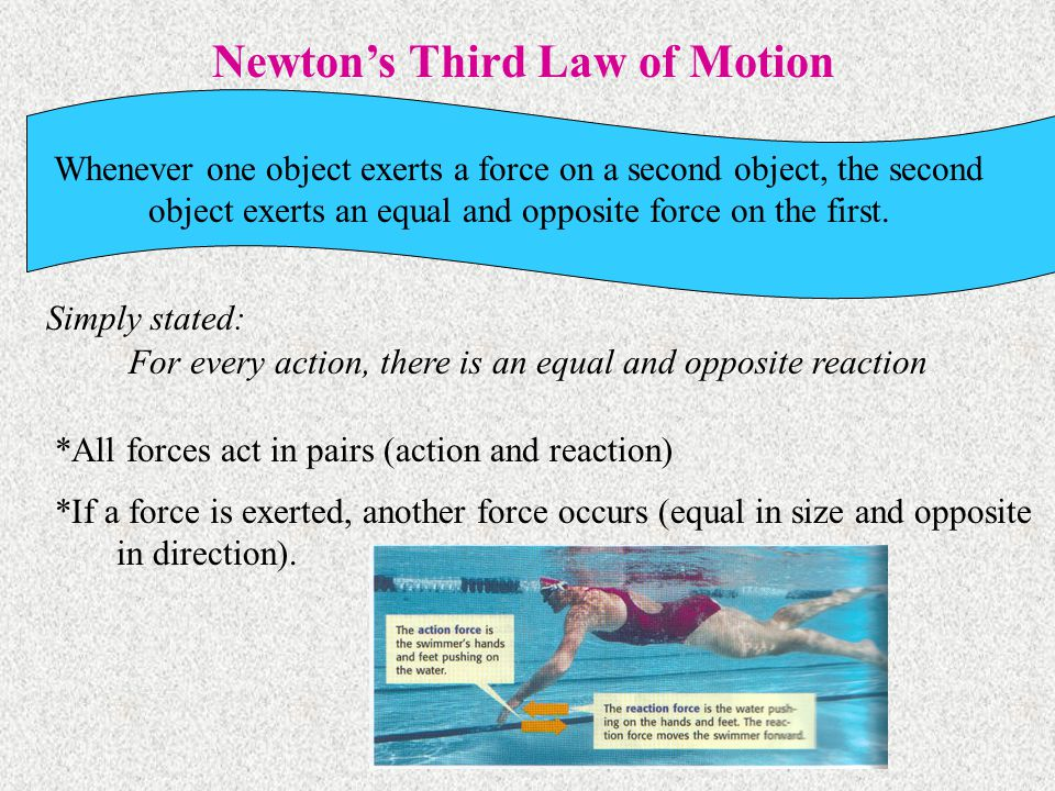 a=F/m F=m*a m=F/a 3. What is the mass of an object if a force of 34 N produces an acceleration of 4 m/s/s? m = F/a m = 34 N / 4 m = 8.5 kg
