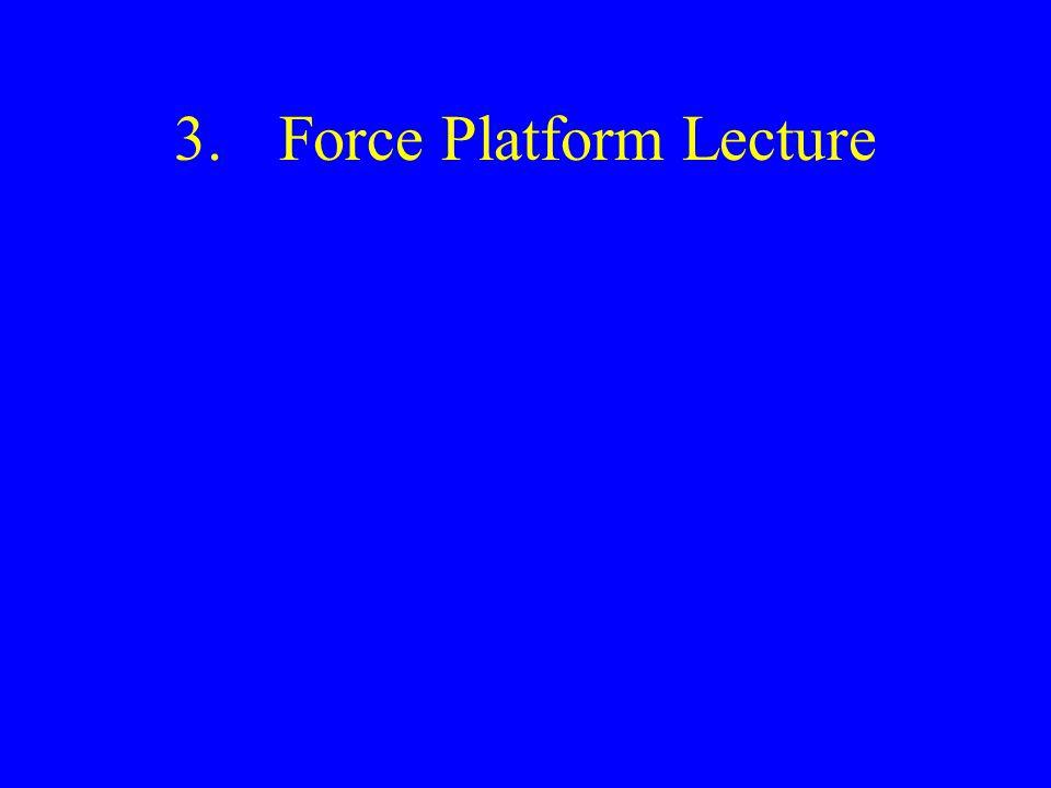 3.Force Platform Lecture