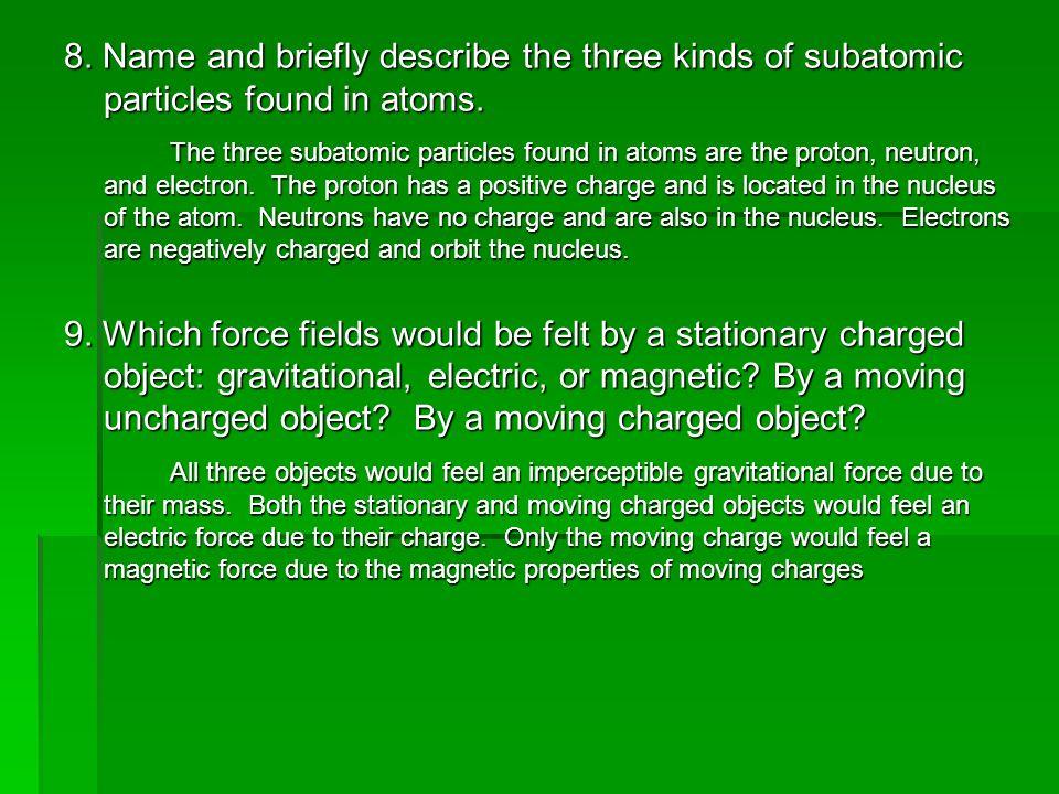 10.What does Faraday's law say about magnets and wires.