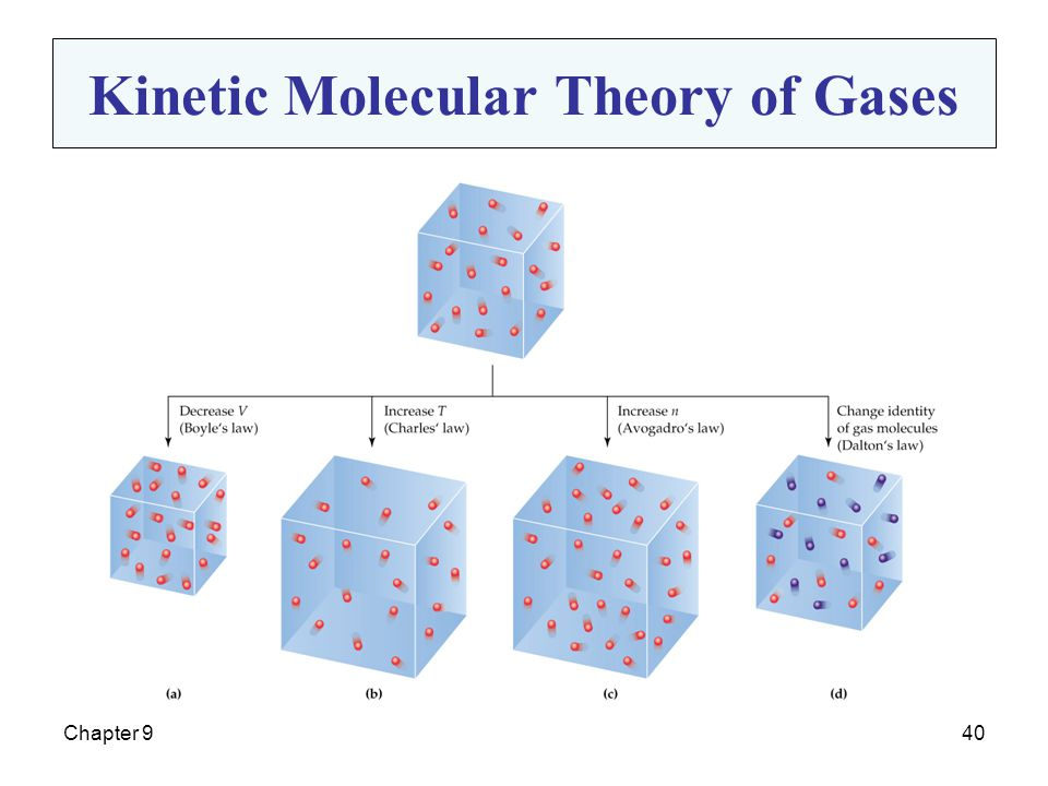 Chapter 940 Kinetic Molecular Theory of Gases