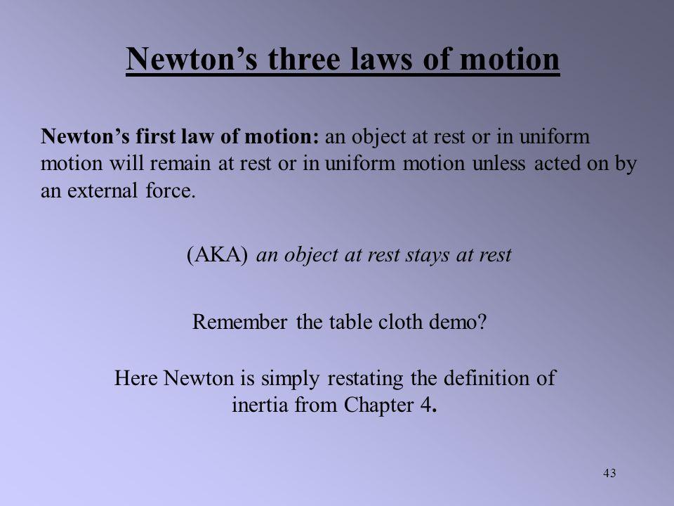 42 Newton's Laws