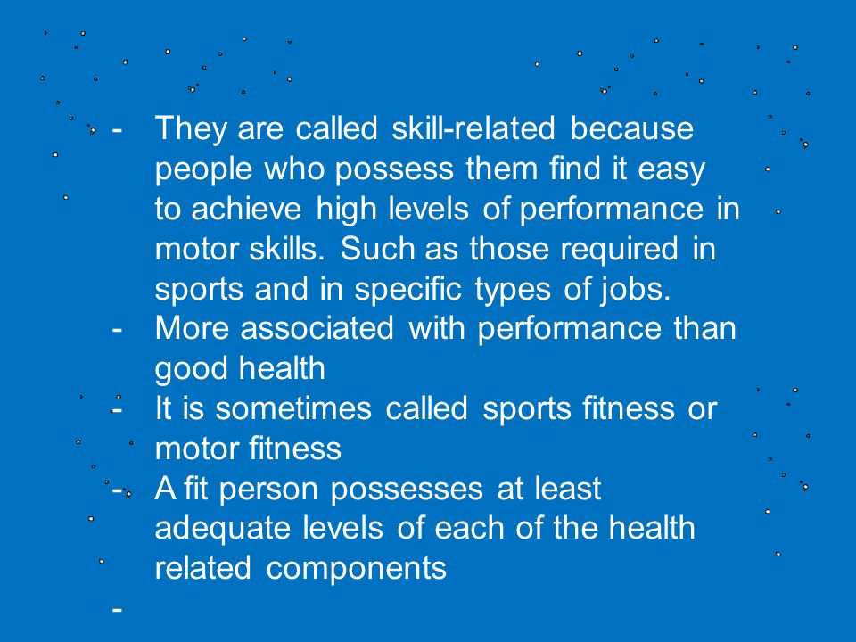 Nonperformance component of total fitness.
