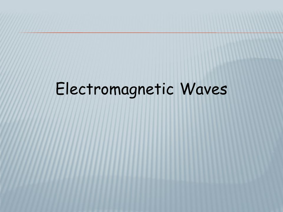  All electromagnetic waves travel at 300,000 km/s in the vacuum of space.