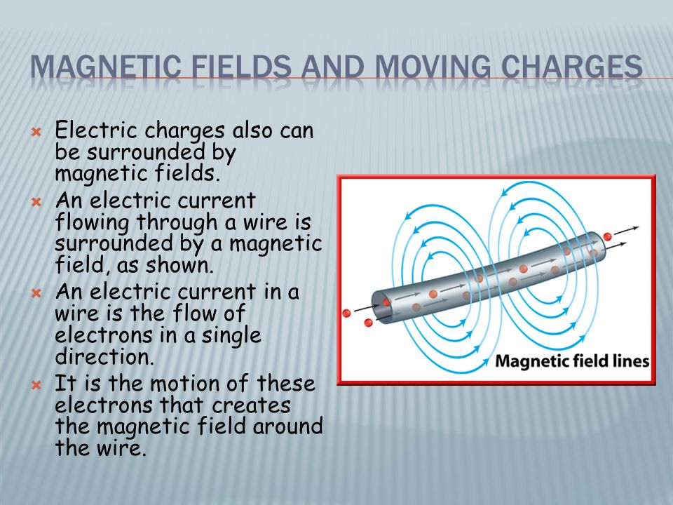  A changing magnetic field creates a changing electric field.