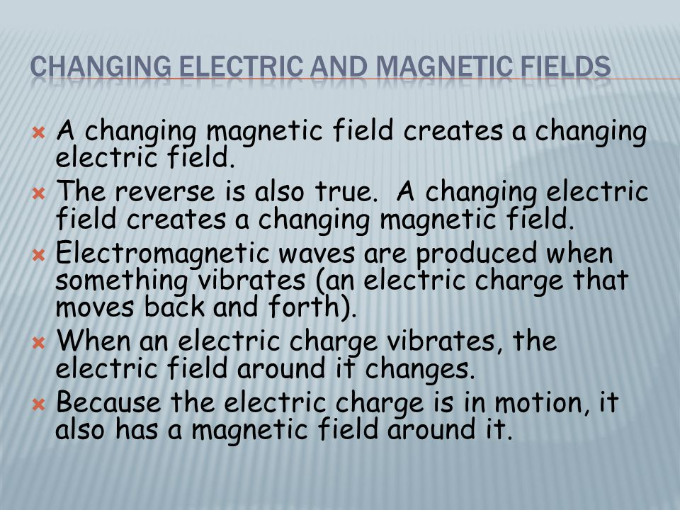  The vibrating electric field inside a microwave oven causes water molecules in food to rotate back and forth billions of times each second.