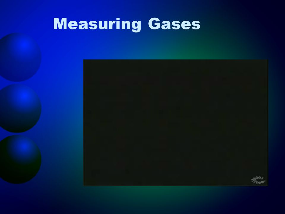 Measuring Gases
