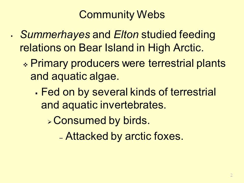 3 Arctic Food Web