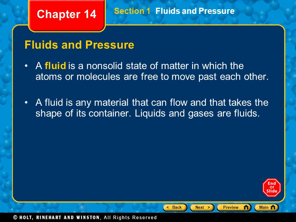 < BackNext >PreviewMain Forces in Fluids Chapter 14