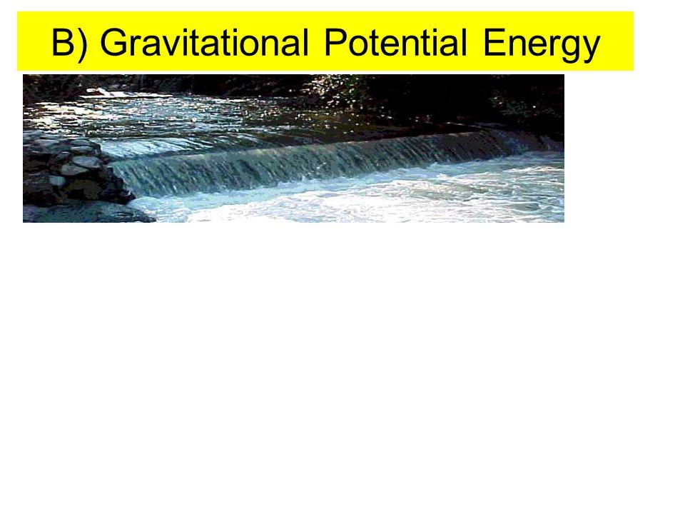 B) Gravitational Potential Energy