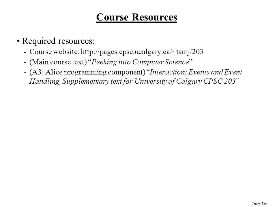 James Tam Evaluation Components (Exert: Course Outline 1 ) Midterm Exam 20 % (Fri.