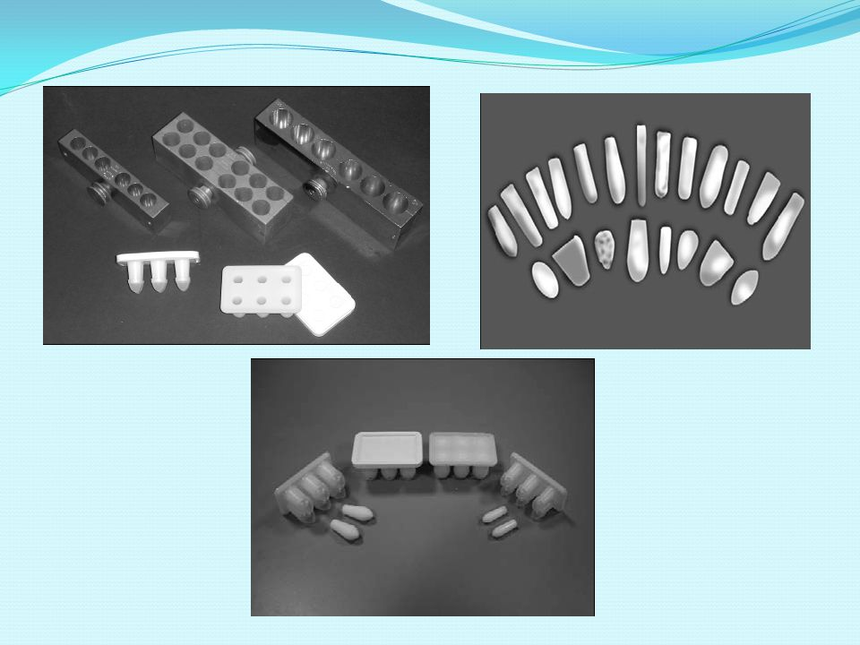 SUPPOSITORIES & PESSARIES SYNTHETIC HARD FAT: - For example: Suppocire, witepsol.