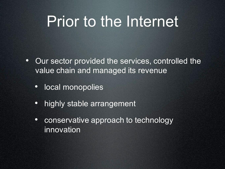 Internet as a virus.