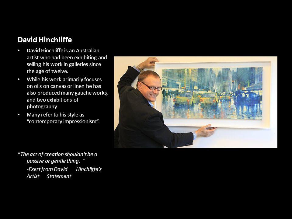 All images retrieved from http://mimiferzt.com/current/# http://www.michaelingbargallery.com/ david-hinchliffe-art-show/