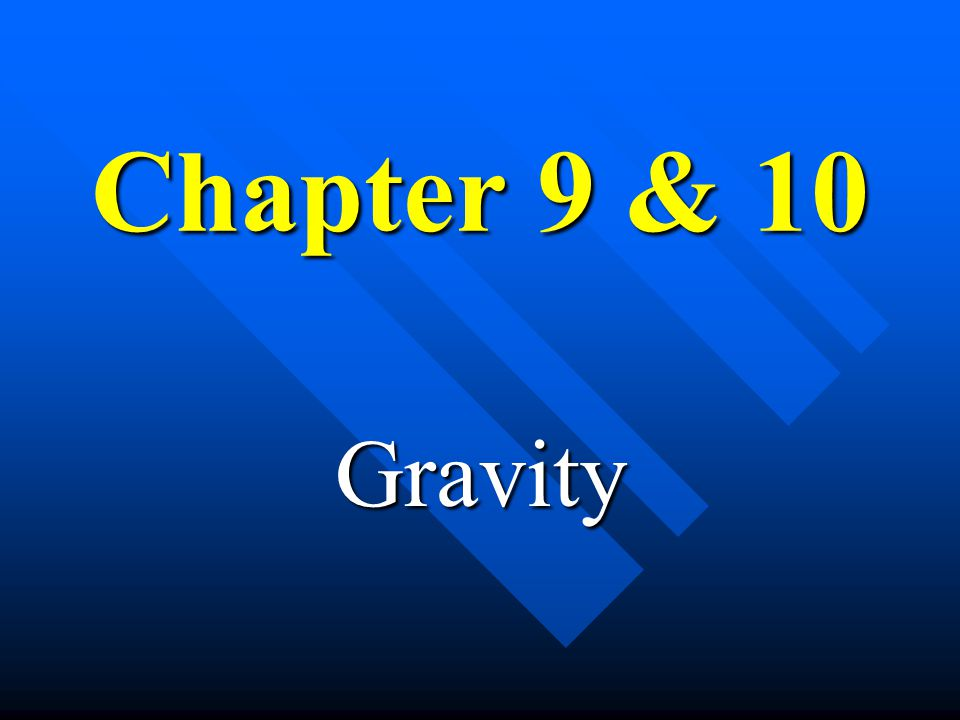 Weight and Weightlessness n Weight »the force due to gravity on an object »Weight = Mass  Acceleration of Gravity »W = m g n Weightlessness - a conditions wherein gravitational pull appears to be lacking –Examples: »Astronauts »Falling in an Elevator »Skydiving »Underwater