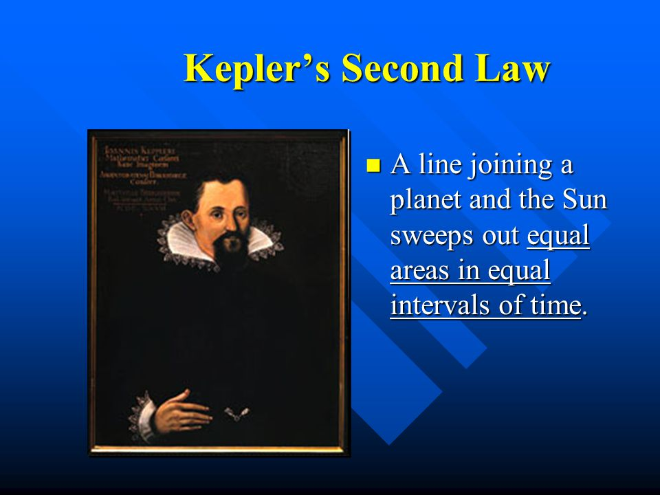 Kepler's First Law n The orbit of a planet about the Sun is an ellipse with the Sun at one focus.