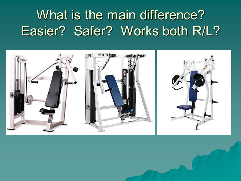 What is the main difference? Easier? Safer? Works both R/L?