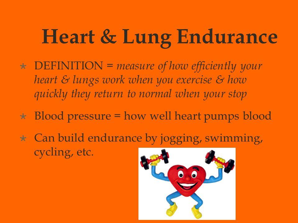 Cardio Endurance