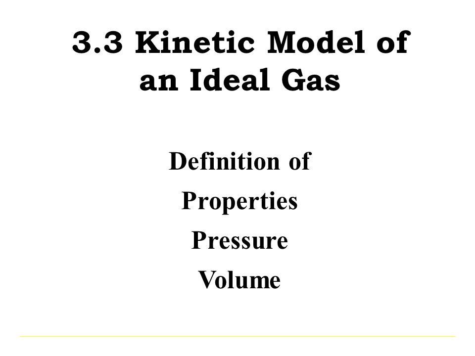 Temperature Volume T increases, V increases (Fixed P) PV = nRT V = nR T P