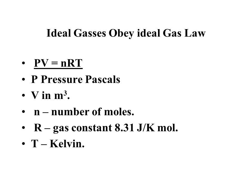When gas P reaches zero, T = absolute zero.