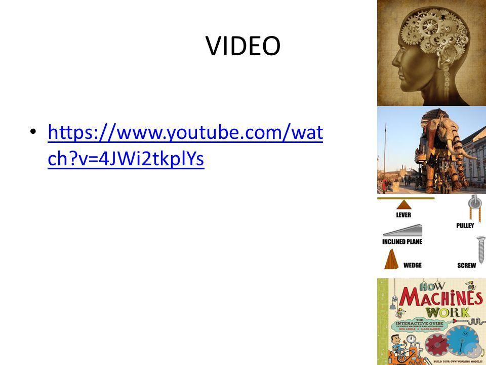 VIDEO https://www.youtube.com/wat ch?v=4JWi2tkplYs https://www.youtube.com/wat ch?v=4JWi2tkplYs