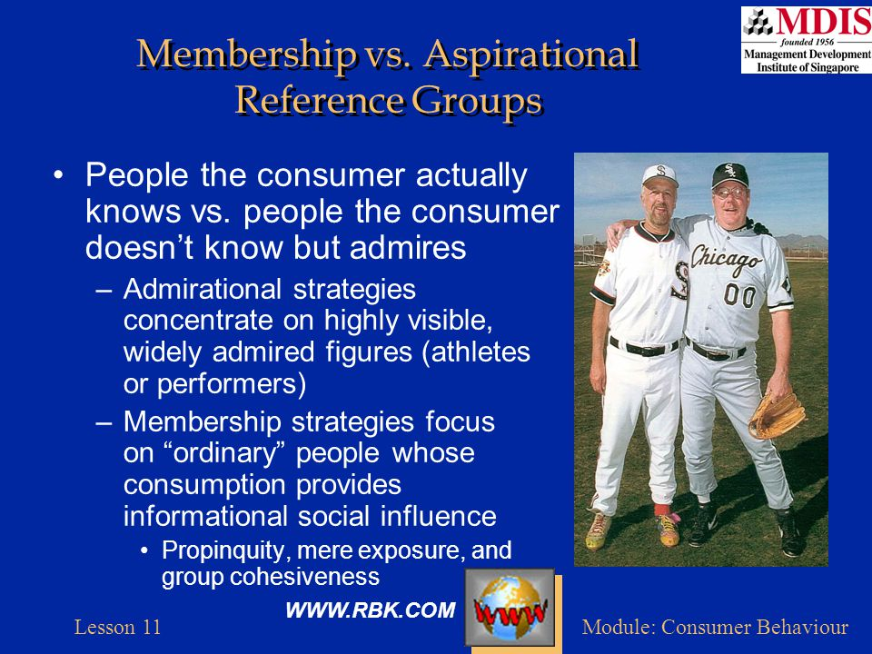 Lesson 11Module: Consumer Behaviour Identifying Opinion Leaders Many ads intend to reach influentials rather than average consumer –Local opinion leaders are harder to find –Companies try to identify influentials in order to create WOM ripple effect –Exploratory studies identify characteristics of opinion leaders for promotional strategies