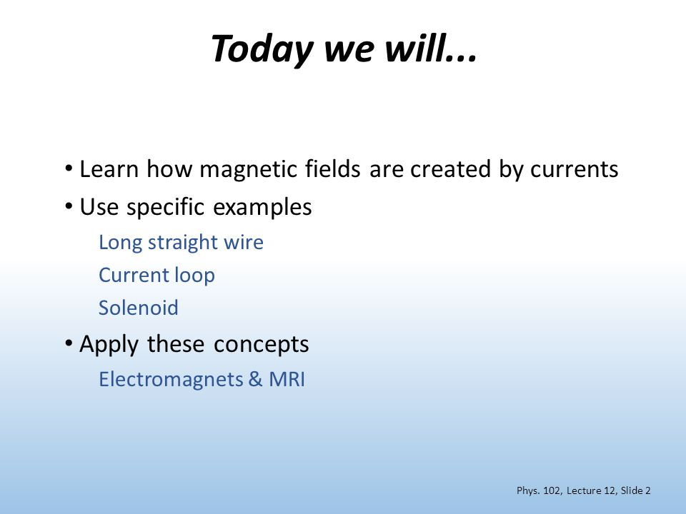 Calculation: MRI magnet How many turns of wire are needed to generate a 1.5 T MRI magnet.