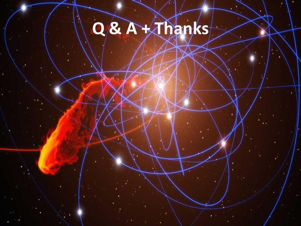 Q & A + Thanks