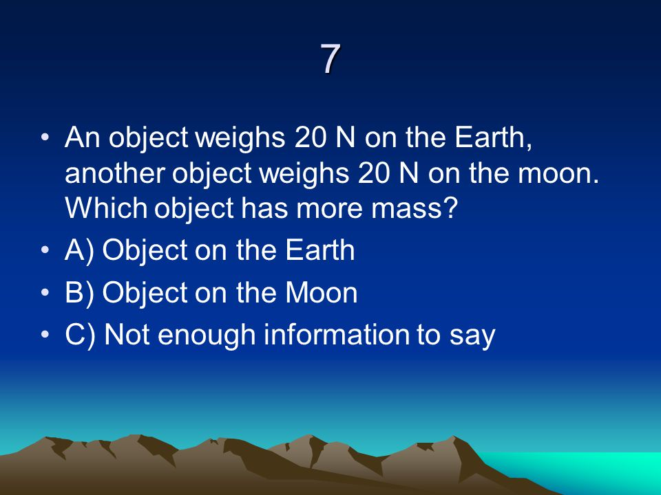 68 An object is propelled along a straight line path in space by a force.