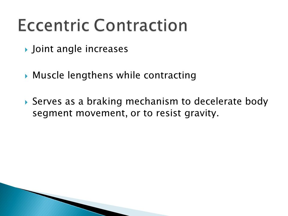  Maximal contraction of muscle or muscle group at a constant velocity throughout entire range of motion (ROM).