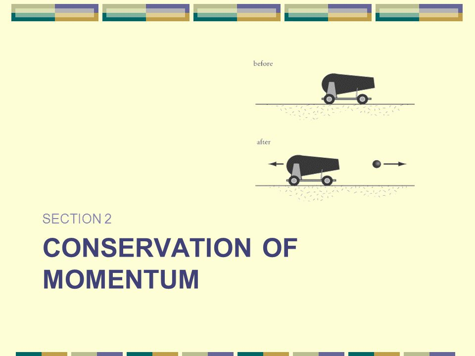CONSERVATION OF MOMENTUM SECTION 2