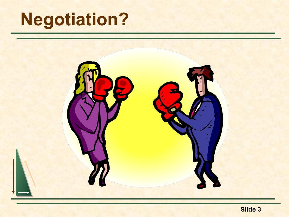 Slide 3 Negotiation