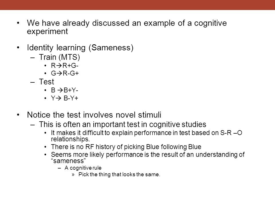 Directed Forgetting –It is known that humans can exert cognitive control over memory.