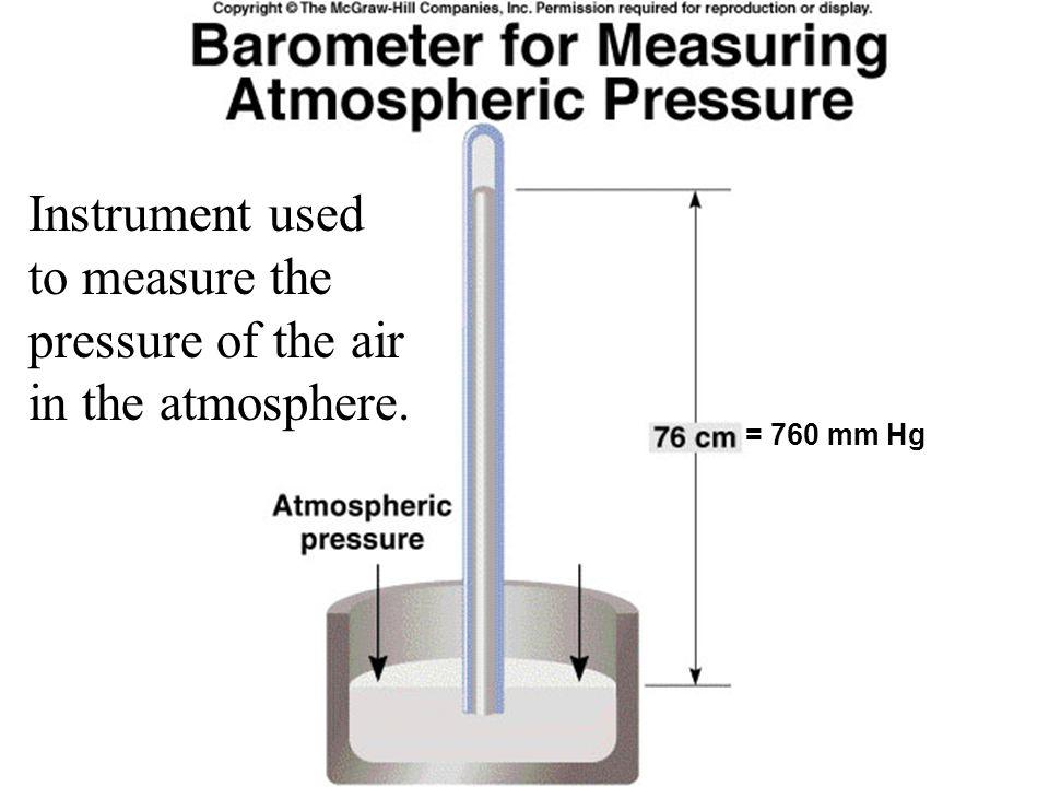 Used to measure pressures below atmospheric pressure.