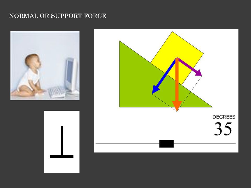 NORMAL OR SUPPORT FORCE